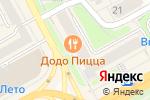 Схема проезда до компании Наши двери в Кирове