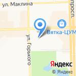 Практика на карте Кирова