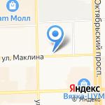 Кофейный Барон на карте Кирова