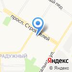 Сеть магазинов на карте Кирова