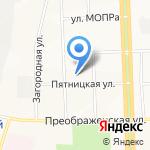 Карекс на карте Кирова