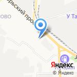 Автотранспортное предприятие на карте Кирова