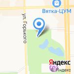 Контактный зоопарк на карте Кирова