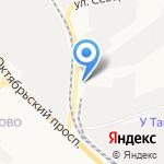 Мебельный Киров на карте Кирова