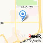 Валентина на карте Кирова