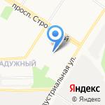 Росточек на карте Кирова