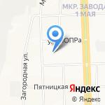Детский сад №26 на карте Кирова