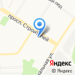 Тильзитский дворик на карте Кирова