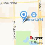 Романс на карте Кирова