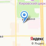 Автоблеск на карте Кирова