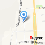 Кировский авиационный техникум на карте Кирова