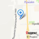 Автободи на карте Кирова