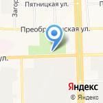 Кировский областной клинический кожно-венерологический диспансер на карте Кирова