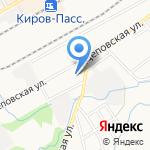 Участковый пункт полиции №1 по Ленинскому району на карте Кирова
