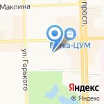Джек И Чан на карте Кирова