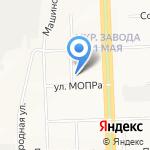 КРАСТ на карте Кирова