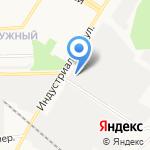 Шелс-мебель на карте Кирова