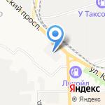 Хлебозавод №5 на карте Кирова