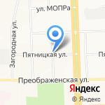 Бутуз на карте Кирова