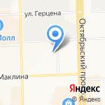 Сударушка на карте Кирова