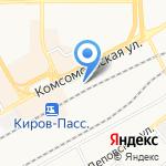 Поле на карте Кирова