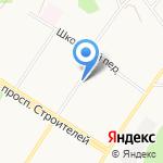 Магазин мясных продуктов на карте Кирова
