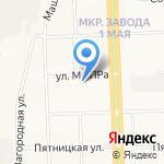 Юстис на карте Кирова