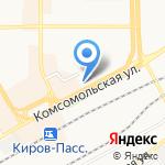 Деньги на карте Кирова
