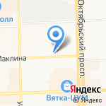 Буду мамой на карте Кирова