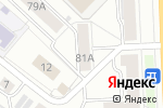 Схема проезда до компании К-Сервис в Кирове
