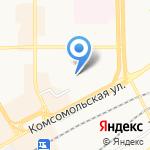 Кировский линейный отдел МВД России на транспорте на карте Кирова