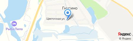 Продукты на карте Гнусино