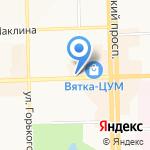 Цветы 43 на карте Кирова