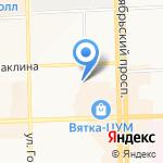 Агросалон на карте Кирова