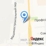 Отдел полиции №1 на карте Кирова