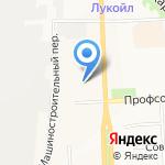 Горзеленстрой на карте Кирова