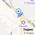 Авторай на карте Кирова