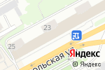 Схема проезда до компании Палисад в Кирове