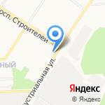 Кедр на карте Кирова