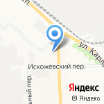 Кайман на карте Кирова