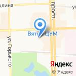 Колизей на карте Кирова