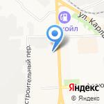 Центр дополнительного образования одаренных школьников на карте Кирова