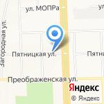 Мартини-фреш на карте Кирова