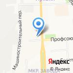 Библиотека №4 им. М.Г. Исаковой на карте Кирова