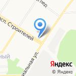 Магазин одежды и трикотажа на карте Кирова