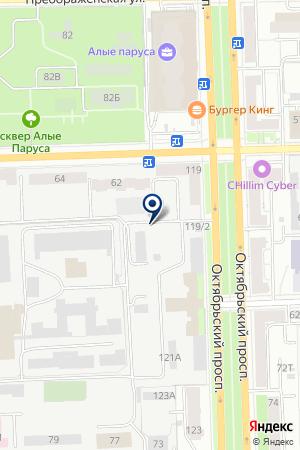 ТФ ДАЯНА-КРАФТ на карте Кирова