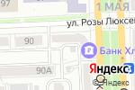 Схема проезда до компании Флирт в Кирове