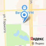 Центр восстановительного лечения на карте Кирова