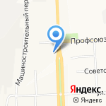 Марианна на карте Кирова