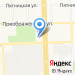 Алые паруса на карте Кирова